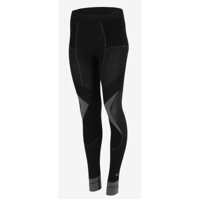 Leginsy thermo plus Julita black grey