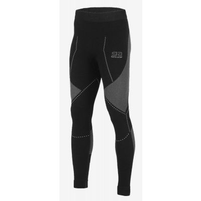 Legginsy thermo plus midi black grey