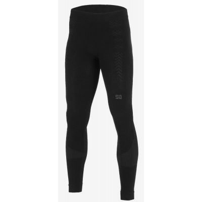 Legginsy thermo ultra motto black grey