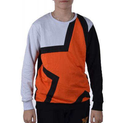 Bluza Superior Athletic Crewneck Orange/Black