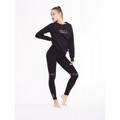 LEGGINSY SSG GIRLS BASIC COLORS BLACK