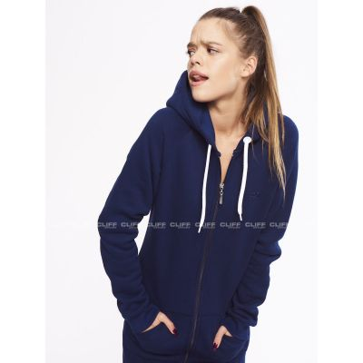 BLUZA SSG GIRLS ZIP HOODIE BASIC COLORS NAVY