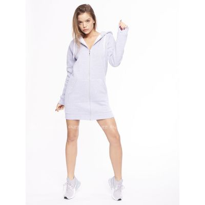 BLUZA SSG GIRLS ZIP HOODIE BASIC COLORS GREY