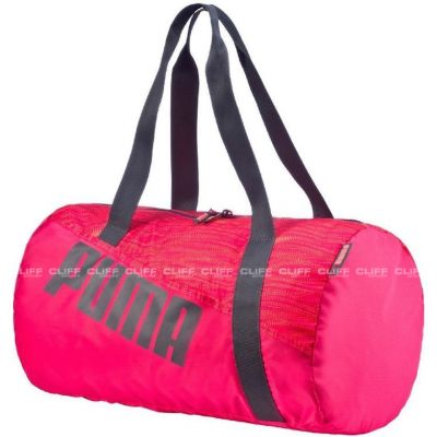 TORBA PUMA STUDIO BARREL BAG ROSE