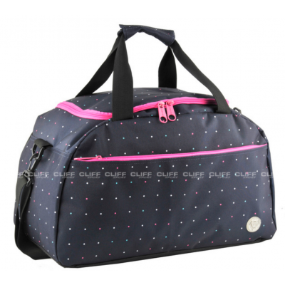 TORBA PASO MULTICOLOR NAVY DOTS