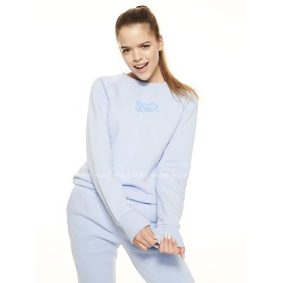BLUZA SSG GIRLS REGLAN SWEATSHIRT CANDY COLORS BŁĘKIT