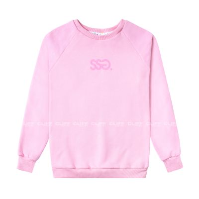 BLUZA SSG GIRLS REGLAN SWEATSHIRT CANDY COLORS JASNY RÓŻ