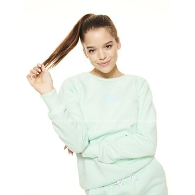 BLUZA SSG GIRLS REGLAN SWEATSHIRT CANDY COLORS MIĘTA