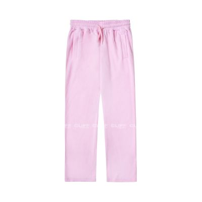 SPODNIE SSG GIRLS FROTTE LOOSE PANTS PINK