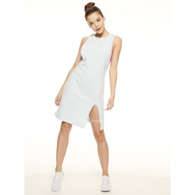 SUKIENKA SSG GIRLS FROTTE TANK DRESS BŁĘKIT RÓŻ