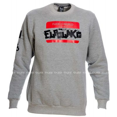 BLUZA EL POLAKO CREWNECK HELLO MY NAME IS