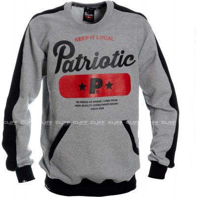 BLUZA PATRIOTIC BASE GREY