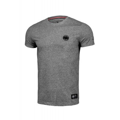 Koszulka PIT BULL Custom Fit Small Logo Grey