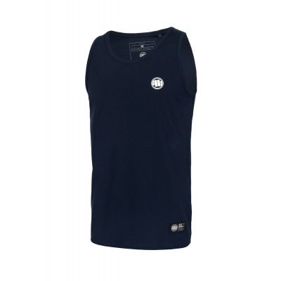 Tank Top PIT BULL Lycra Small Logo Dark Navy