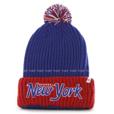 CZAPKA 47 BRAND KNIT NEW YORK RANGERS STEP BACK