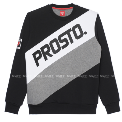 BLUZA PROSTO TRANSITIONS BLACK