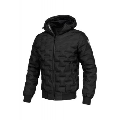 Kurtka PITBULL Hooded Carver Black