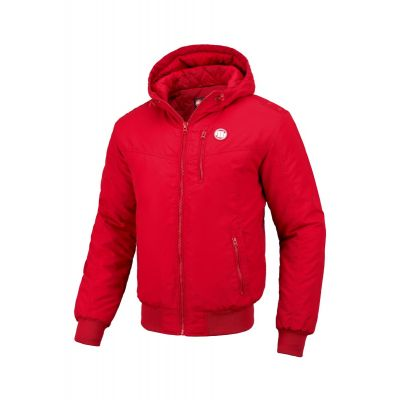 Kurtka PITBULL Hooded Cabrillo Red