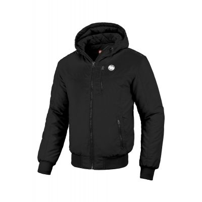 Kurtka PITBULL Hooded Cabrillo Black