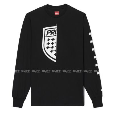 BLUZKA PROSTO LONGSLEEVE ON HALF BLACK