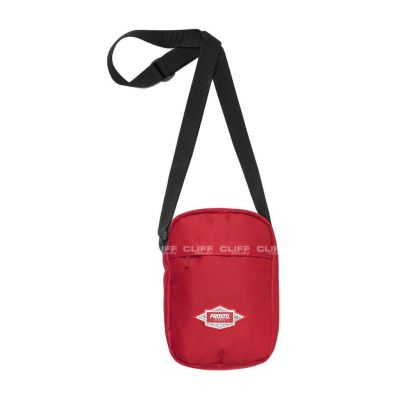 TOREBKA PROSTO SHOULDER BAG DEFEND FLAME RED