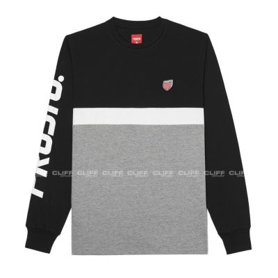 KOSZULKA LONGSLEEVE PROSTO ONCE NIGHT BLACK