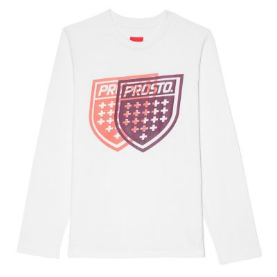 Longsleeve card white