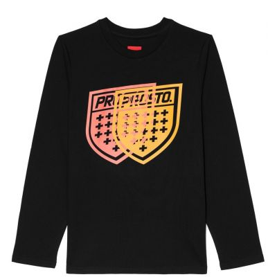 Longsleeve card black