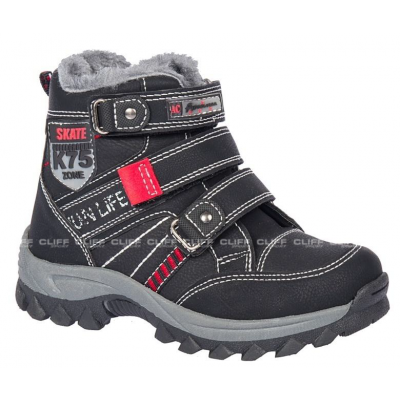 BUTY AMERICAN CLUB WINTER BLACK JUNIOR