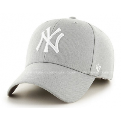 CZAPKA 47 BRAND NEW YORK YANKEES GREY