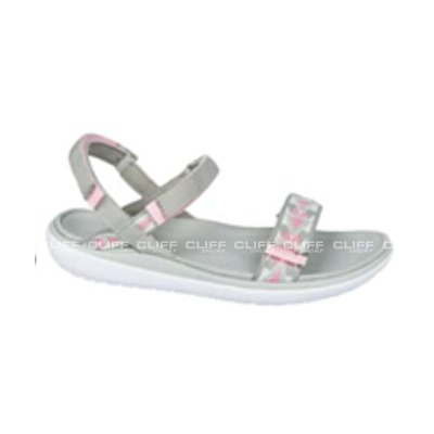 SANDAŁY AMERICAN CLUB WOMEN GREY PINK