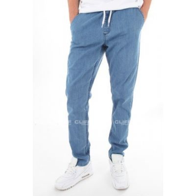 SPODNIE SSG JEANSY STRETCH STRAIGHT FIT JEANS GUMA LIGHT