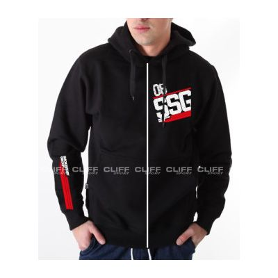 BLUZA SSG ZIP DOTS SSG BLACK