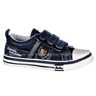 BUTY AMERICAN CLUB KIDS DENIM JEANS NAVY