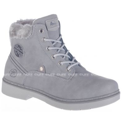 BUTY AMERICAN CLUB WINTER W GREY M791