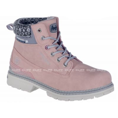 BUTY AMERICAN CLUB WINTER W PINK M792