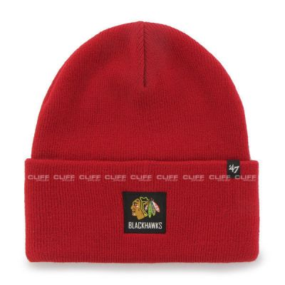 CZAPKA 47 BRAND KNIT CHICKAGO BLACKHAWKS