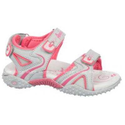 SANDAŁY AMERICAN CLUB KIDS GREY RX PINK