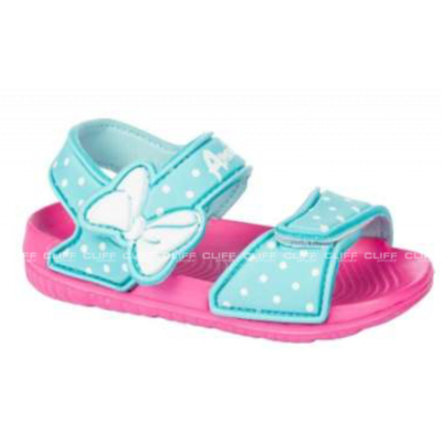 SANDAŁY AMERICAN CLUB KIDS MINT PINK SUMMER