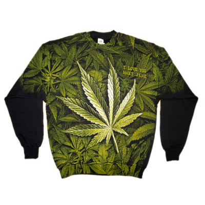Bluza crewneck print Mary Jane