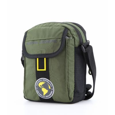 Torba na ramię NATIONAL GEOGRAPHIC NEW EXPLORER mała Khaki