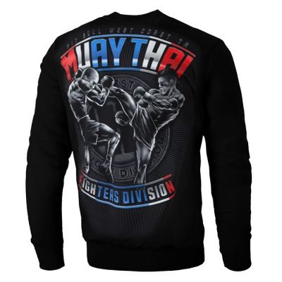 Bluza crewneck Muay Thai 2019 black