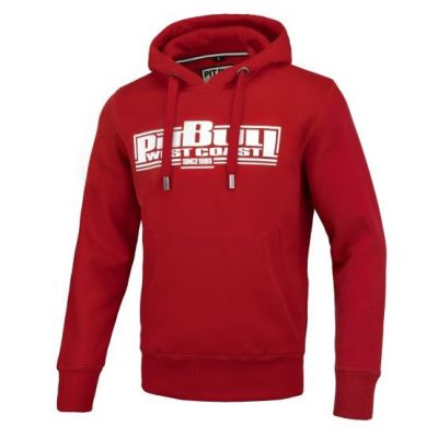 Bluza kangur hooded boxing 19 red