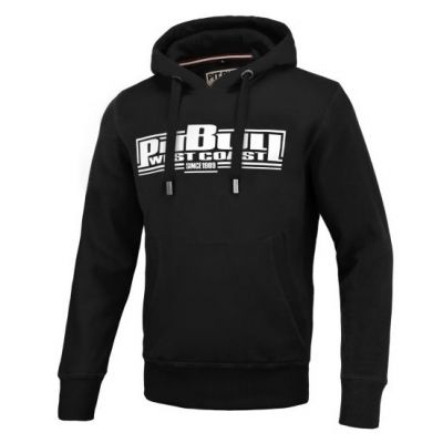 Bluza kangur hooded boxing 19 black