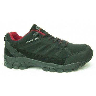 Buty DK Denver low black red