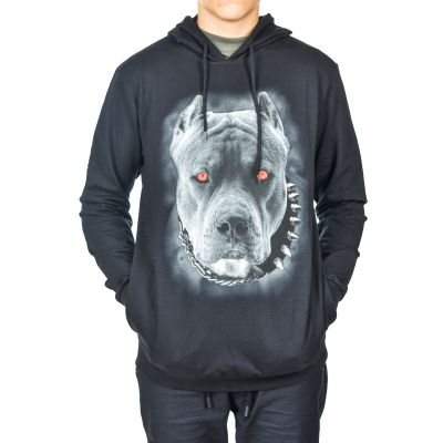 Bluza Kangur CLUB JU Dog Black