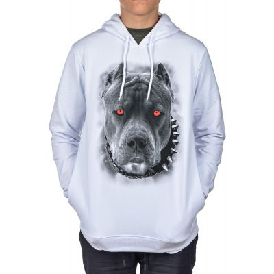 Bluza Kangur CLUB JU Dog White