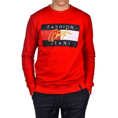 Bluza Bez Kaptura CLUB JU Fashion Red