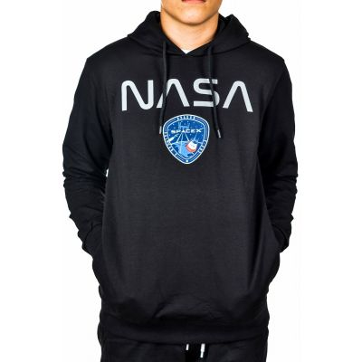 Bluza Kangurka NASA Club Ju Black