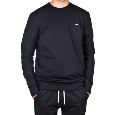 Bluza CLUB JU Crew Neck Black